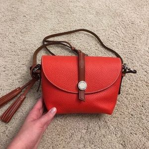 Dooney and Bourke Cambridge Crossbody Saddle Bag